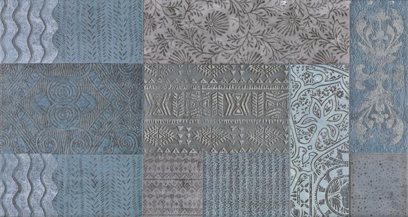 Купить Керамическая плитка Aparici Outre Blue 25241 настенная 31, 7x59, 5, Испания