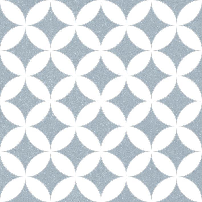Купить Керамогранит Novogres Celine Lucie Azul декор 30х30, Испания