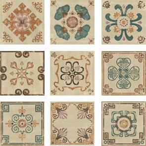 Купить Керамическая плитка Mainzu Verona Decor Pav. Напольная 20x20, Испания