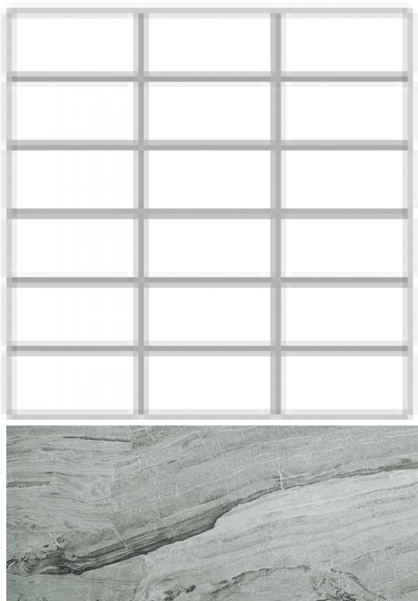 Купить Керамогранит Seranit Misto Mosaic Grid Grey Lappato (10x3, 5) мозаика 30x30, Турция