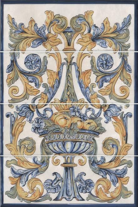 Купить Керамическая плитка Kerama Marazzi Площадь Испании HGD/A347/4x/15129 панно 60x40, Россия