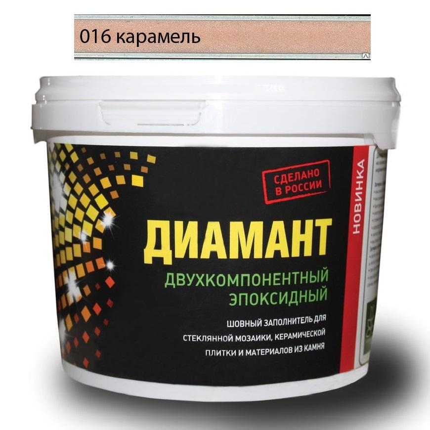 Купить Затирка Диамант эпоксидная Карамель 016 1 кг, Россия