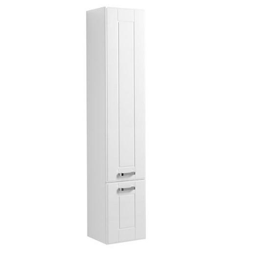 Купить Пенал Aquanet Рондо 35 подвесной белый (2 дверцы) 00189160, Россия