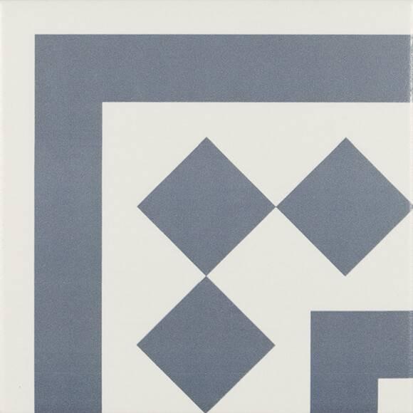 Купить Керамическая плитка Ribesalbes Antigua PT02105 Azul 001 декор 20х20, Испания