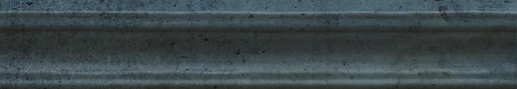 Купить Керамическая плитка Cifre Alchimia Moldura Blue бордюр 5х30, Cifre Ceramica, Испания