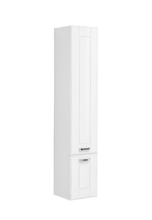 Купить Пенал Aquanet Рондо 35 подвесной белый антик (2 дверцы) 00196773, Россия