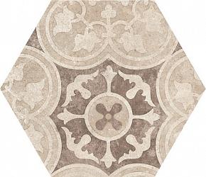Керамогранит Equipe Hexatile 22098 Cement Garden Sand 17,5x20