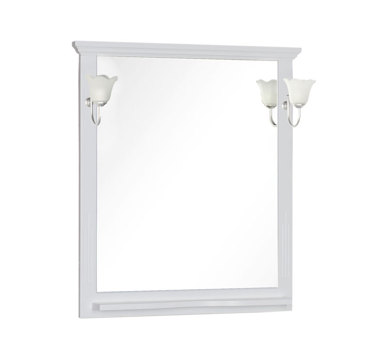 Купить Зеркало Aquanet Лагуна 85 белый 00175305, Россия