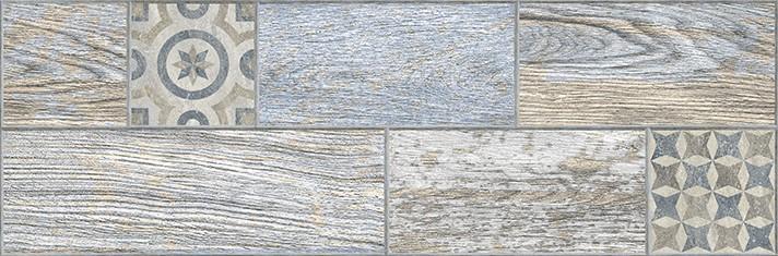 Купить Керамогранит Индиго декор голубой 3606-0028 19, 9х60, 3, Lb-Ceramics, Россия