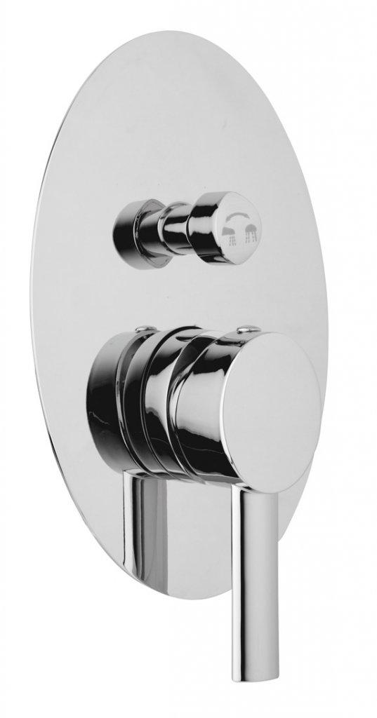 Купить Встраиваемый двухпозиционный смеситель для душа Cezares Over хром OVER-VDIM-01-Cr, Италия