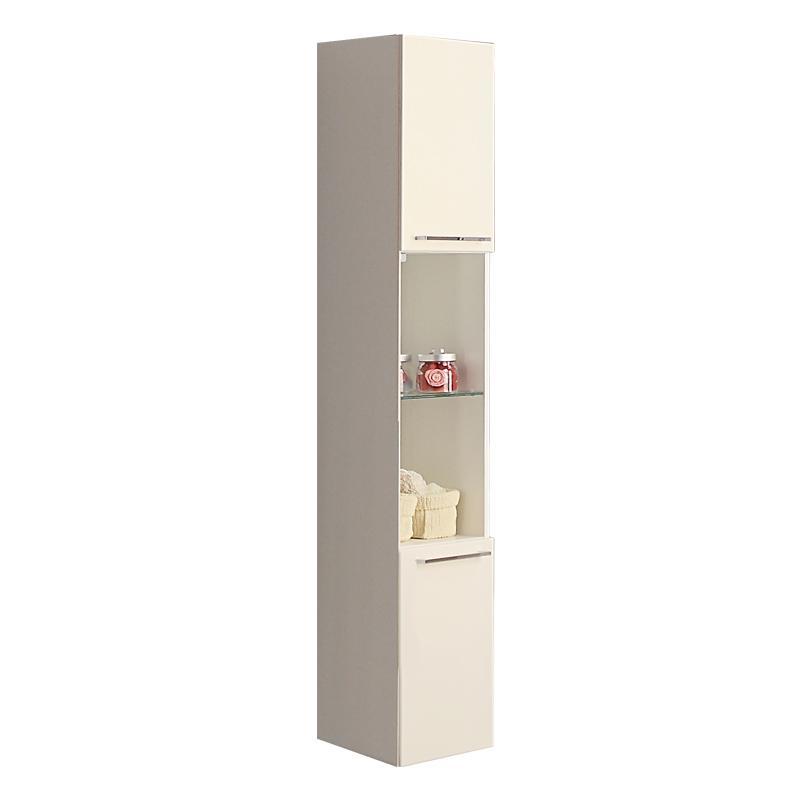 Купить Шкаф-колонна АКВАТОН СЕВИЛЬЯ подвесной, белый жемчуг, Акватон, Россия