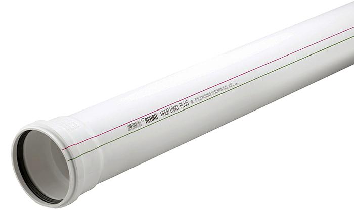 Купить Rehau Труба для систем внутренней канализации 50/1500 мм, Германия