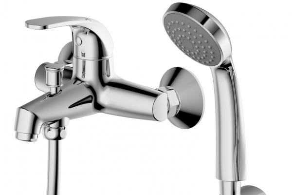 Купить Смеситель для ванны и душа Bravat Fit F6135188CP-B-RUS, Германия