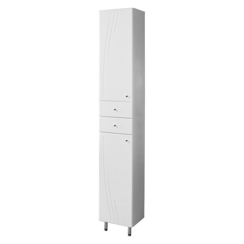 Купить Шкаф-колонна АКВАТОН МИНИМА-М левый белый, Акватон, Россия