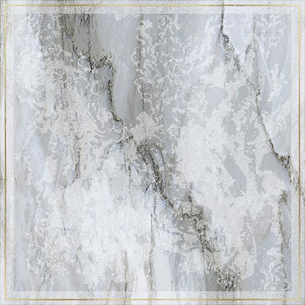 Купить Керамогранит Brennero Venus Dec. Solitaire Rosone Pav. Gold BluLapp/Rett декор 60x60, Италия