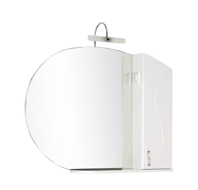 Купить Зеркальный шкаф Aquanet Моника 105 белый 00186776, Россия