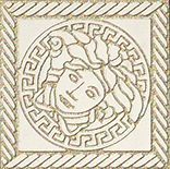 Купить Керамогранит Versace Marble Bianco 240301 Tozetto Medusa Sab Декор 11, 5х11, 5, Италия