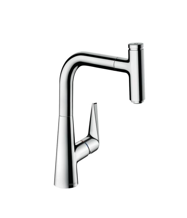 Купить Смеситель для кухни Hansgrohe Talis Select S 220 с вытяжным изливом 72822000, Германия