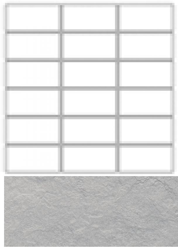 Купить Керамогранит Seranit Riverstone Mosaic Line Grey (15x3, 5) мозаика 30x30, Турция