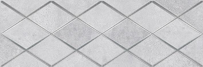 Купить Керамическая плитка Ceramica Classic Mizar Attimo Декор тёмно-серый 17-05-07-1180-0 20х60, Россия