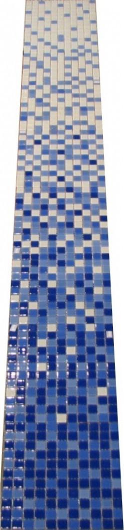 Купить Мозаика Jump Blue №1-8 (комплект из 8 шт) (4x25x25) Растяжки 30x240, China Mosaic, Китай