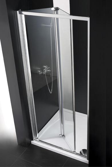 Купить Душевая дверь в нишу CEZARES ANIMA BS 1950x800 (матовое стекло) Хром, Италия