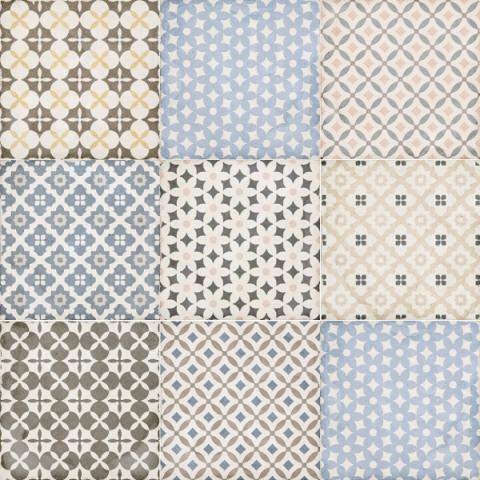 Купить Керамогранит Equipe Art Nouveau 24412 Alameda Colour (Mix8) 20x20, Испания