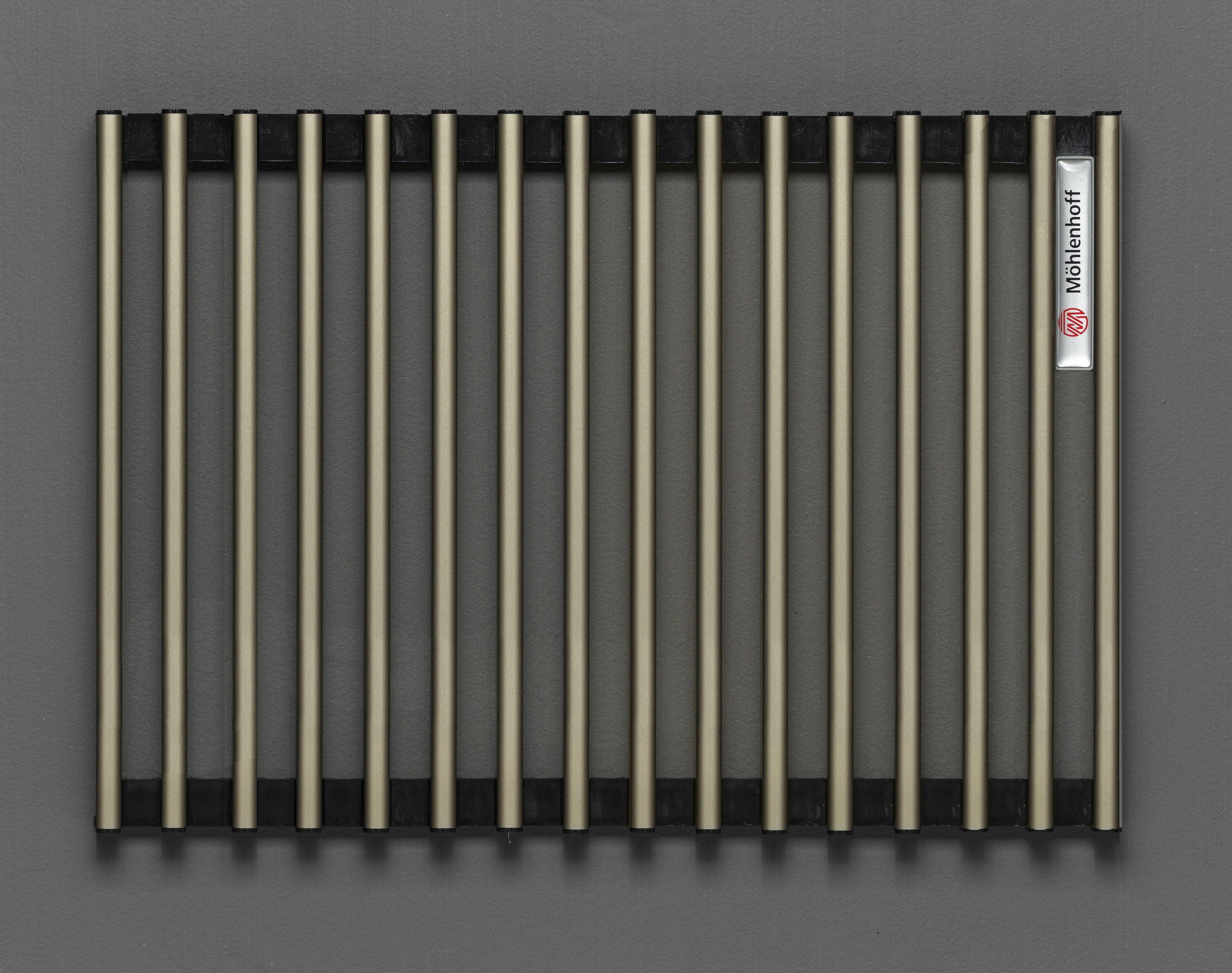 Купить Декоративная решётка Mohlenhoff светлая бронза, шириной 410 мм 1 пог. м, Россия