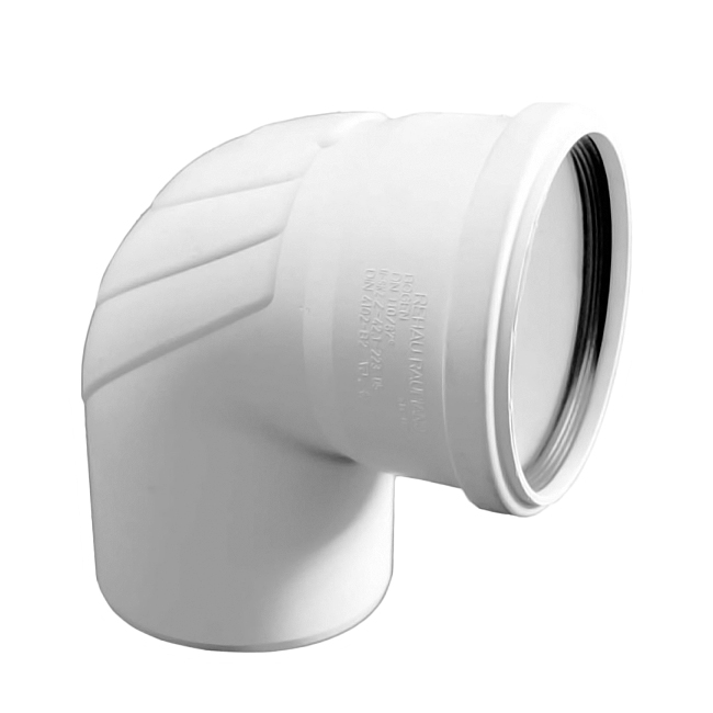Купить Rehau Отвод для систем внутренней канализации 110 на 87*, Германия