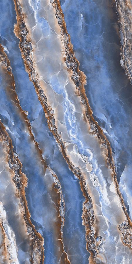 Купить Керамогранит Decovita Onyx Sky Blue Full Lappato 60x120, Турция