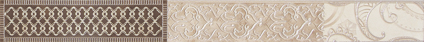 Купить Керамическая плитка AltaСera Blanket Crema BW0BLN01 Бордюр 5х50, Россия