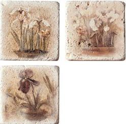 Купить Керамическая плитка Serenissima Marble Age Inserto Travertino Декор (комп/3шт) 10x10, Италия