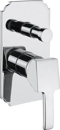 Купить Встраиваемый двухпозиционный смеситель для душа Cezares Legend хром LEGEND-VDIM-01, Италия
