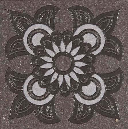 Купить Керамическая плитка Quartzite G-173/S/t04/70x70x9/S1 (GT-173/t04) Вставка - 20 шт, Grasaro, Россия