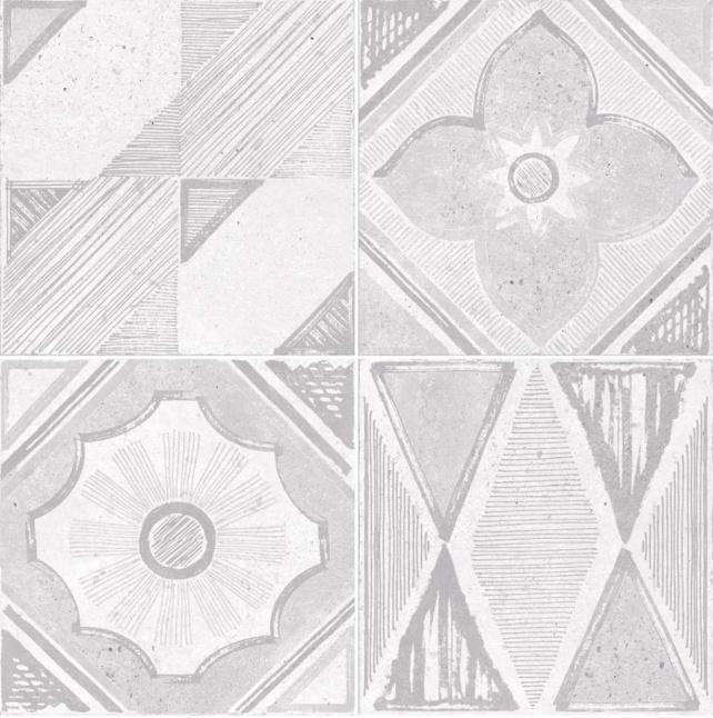 Купить Керамическая плитка Dual Gres Vanguard Pav. Metropoli Grey (Mix без подбора) напольная 45x45, Испания