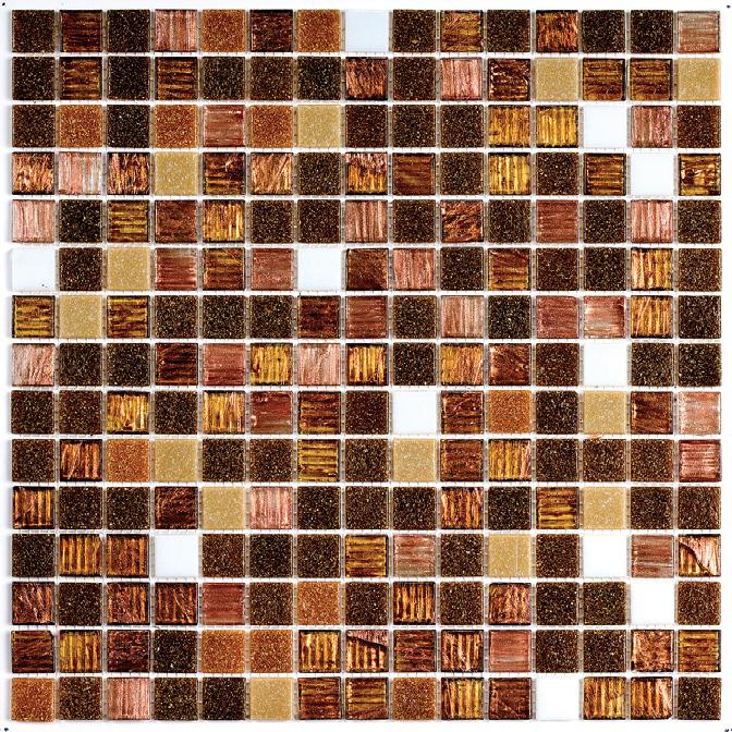 Купить Мозаика Treck №8 (Dark) (4x20x20) Растяжки 30x30, China Mosaic, Китай