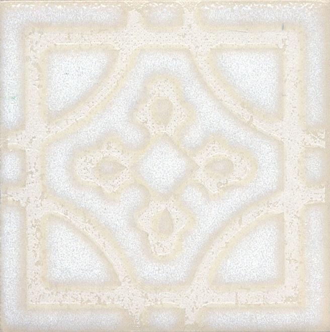 Купить Керамический гранит Kerama Marazzi Амальфи Орнамент Белый STG/B406/1266 Декор 9, 9x9, 9, Россия