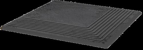 Купить Керамическая плитка Grupa Paradyz Semir Grafit Ступень угловая 30x30, Польша