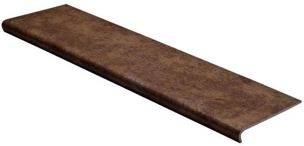 Купить Ступень Seranit Riverstone Moka фронтальная 33x120, Турция