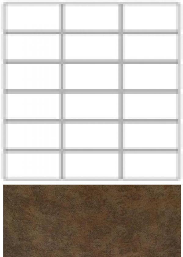 Купить Керамогранит Seranit Riverstone Mosaic Line Moka (15x3, 5) мозаика 30x30, Турция