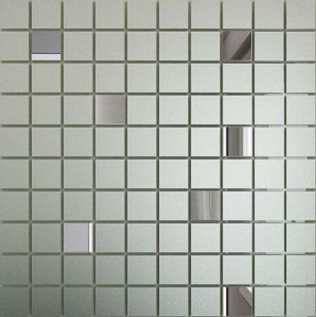 Купить Мозаика зеркальная Серебро матовое + Графит См90Г10 ДСТ 25 х 25/300 x 300 мм (10шт) - 0, 9, Россия