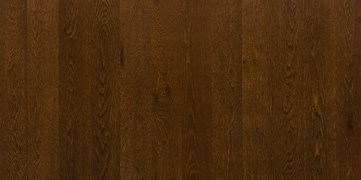 Купить Паркетная доска Floorwood 138 OAK Madison dark brown LAC 1S (Дуб Кантри), Россия