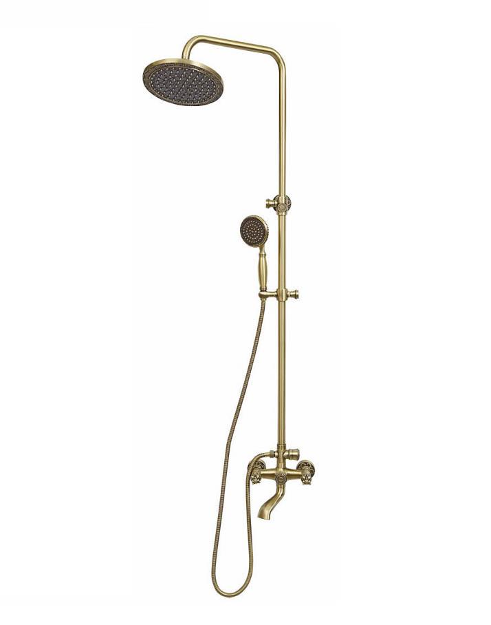Комплект для ванны и душа Bronze de Luxe FLORENCE 10131