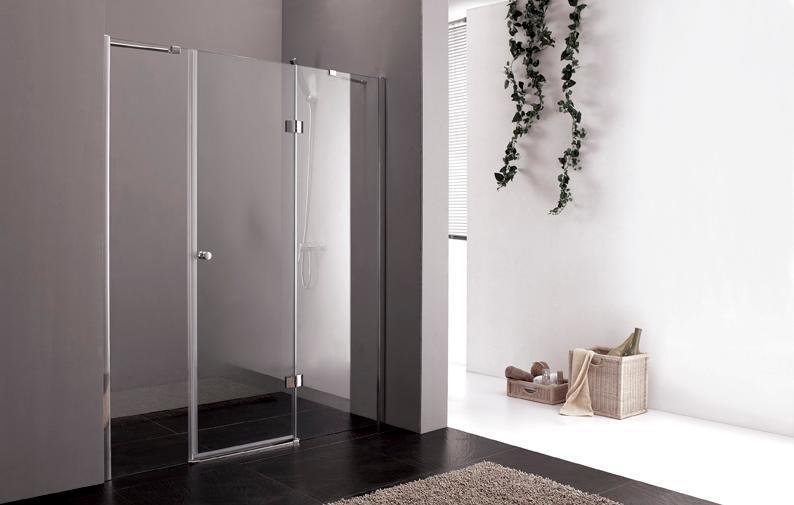 Купить Душевая дверь в нишу CEZARES VERONA-W-B-13 1950x1200 (матовое стекло) Хром, Италия