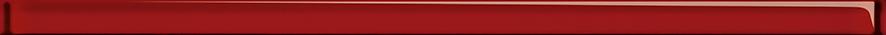 Купить Керамическая плитка Cersanit Universal Glass Спецэлемент стеклянный красный (UG1U412) 3x75, Россия