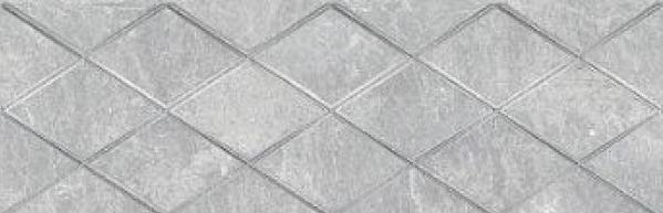 Купить Керамическая плитка Ceramica Classic Alcor Attimo Декор серый 17-05-06-1188-0 20х60, Россия