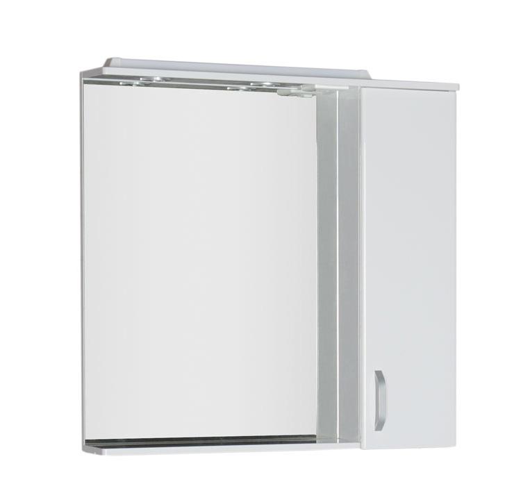 Купить Зеркальный шкаф Aquanet Глория 90 белый 00171603, Россия