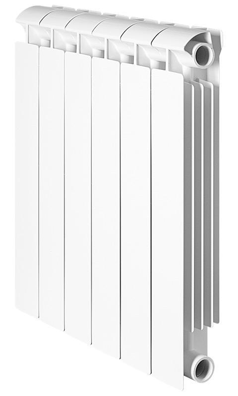 Купить Секционный алюминиевый радиатор Global Klass 500 06 cекций Глобал Класс, Италия