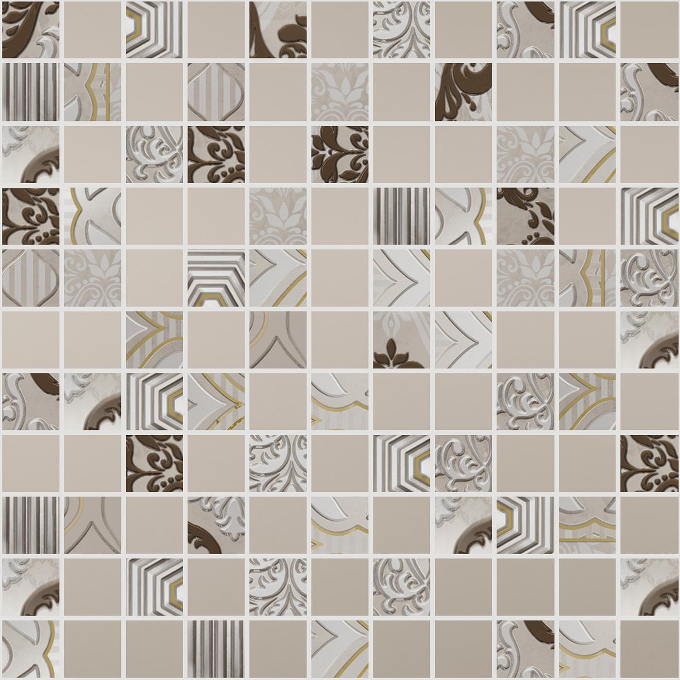 Керамическая плитка AltaСera Orleans Mosaic DW7MRL01 мозаика 30,5x30,5