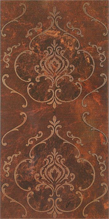 Купить Керамическая плитка Керамин Букингем 3Т Панно коричневый 30х60, Беларусь